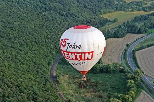 Eine Ballonfahrt